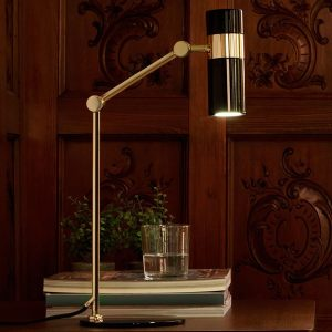 PAGO Table Lamp GLD-BLK by Aromas-600×800