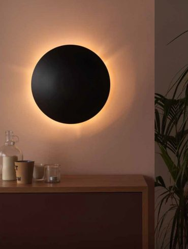 MINIROSS Wall Lamp Black by Aromas Ref.A1063DL
