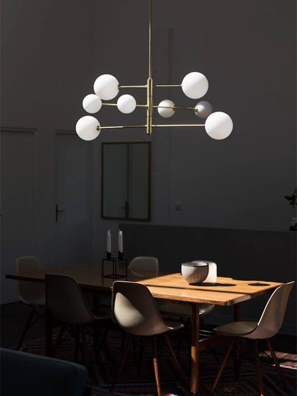 Atom Pendant Lamp by AC Studio Ref.A-C1214-8DL