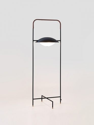 WONG Floor Lamp Black Ref.A-P1263DL by Aromas 600-800 (1)