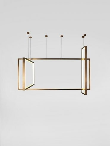 FRAME Pendant Lamp by AC Studio-Aromas Ref.A-C1246DL-600-800