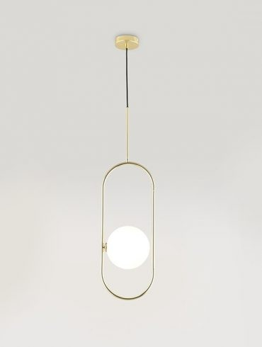 ABBACUS Pendant Lamp Matte Brass Ref.A-C1258DL by Aromas 600-800