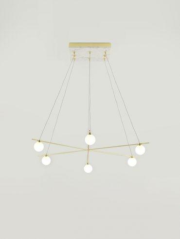LAN Pendant Lamp by AC Studio-Aromas Ref.A-C1210-6DL 600-800
