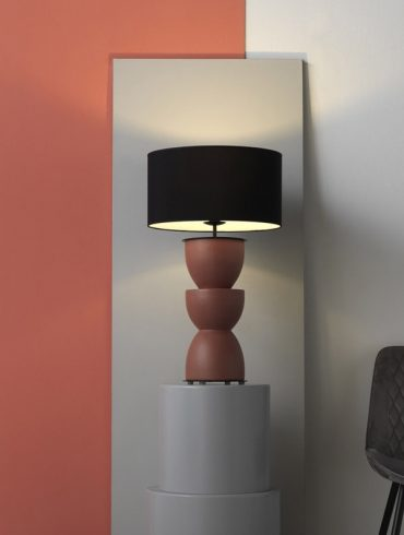 Metric Table Lamp by Aromas