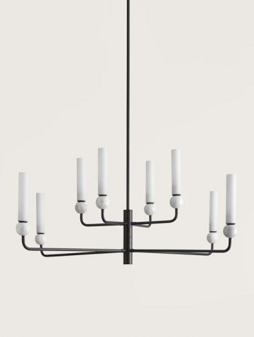 DELIE LED Ceiling Lamp_(8 X 5W)_Blk